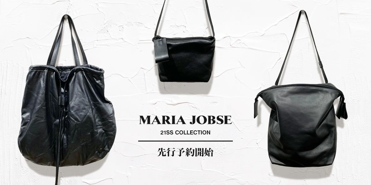 MARIA JOBSE マリアヨブセ 21SS 先行予約開始