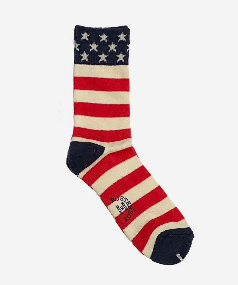 ROSTER SOX ロスターソックス 米国国旗 アメリカ