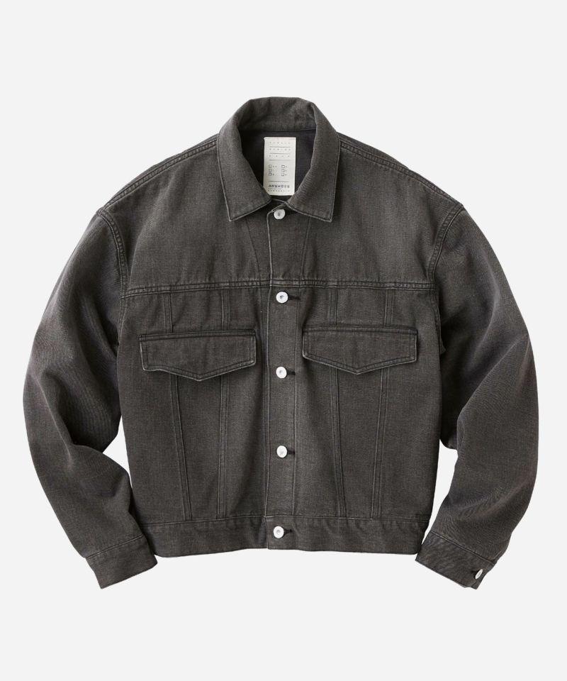 KURO クロ Gジャン デニムジャケット ブラック 黒 ブランド
