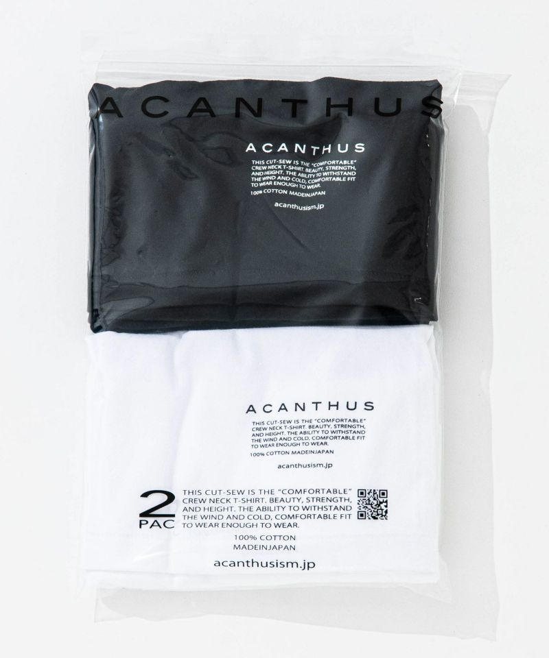 ACANTHUS アカンサス パックTシャツ