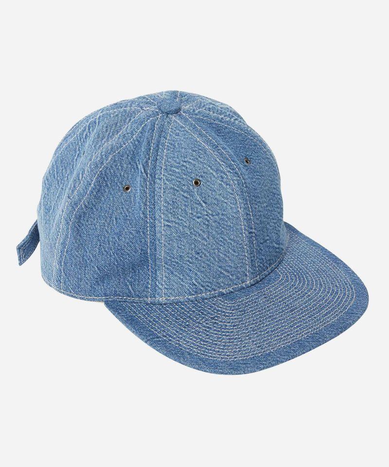 KURO クロ インディゴ ブルー デニム 帽子 キャップ  Jプレス JPRESS
