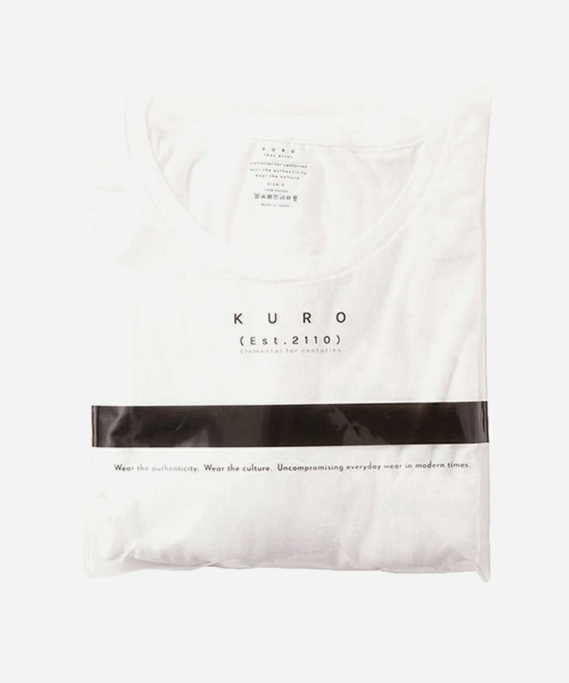 KURO クロ パックTシャツ 長袖 2枚組