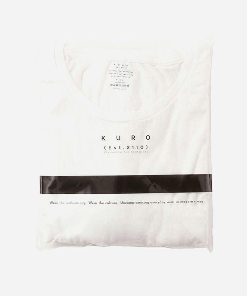 KURO クロ パックTシャツ 白 ホワイト